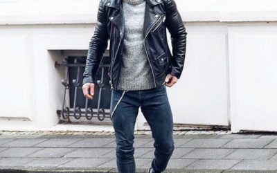 8 Ways On How To Wear A Leather Jacket