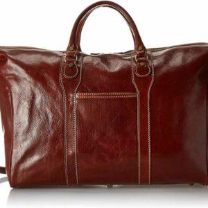 Floto Chianti Italian Calfskin Leather Duffle Bag 3
