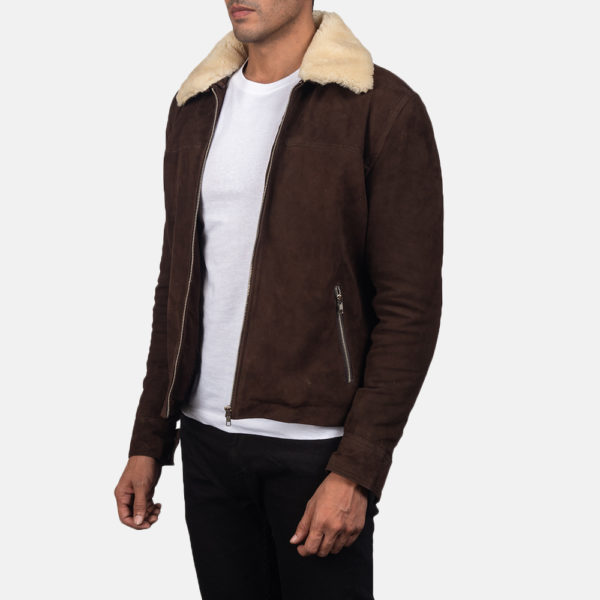 Coffner Brown Shearling Fur Jacket