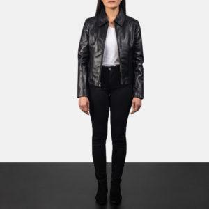 Colette Black Leather Jacket