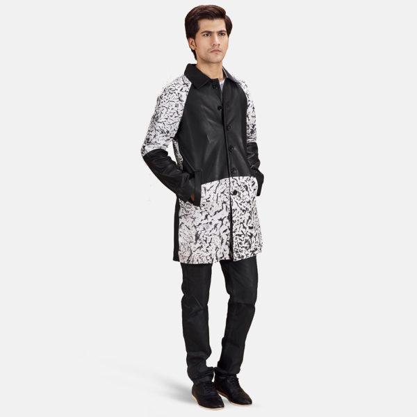 Artistry Black Dye Leather Coat