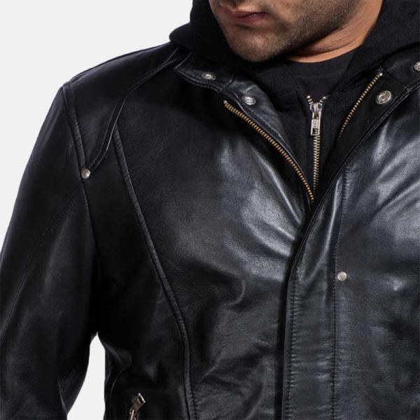 Highschool Black Leather Jacket