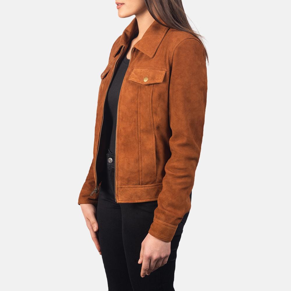 Suzy Brown Suede Jacket