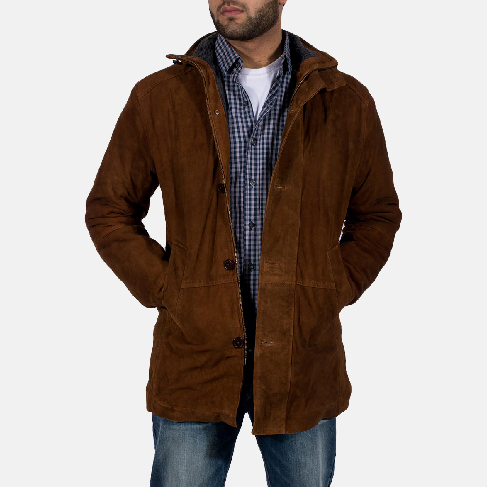 Brown Suede Sheriff Jacket