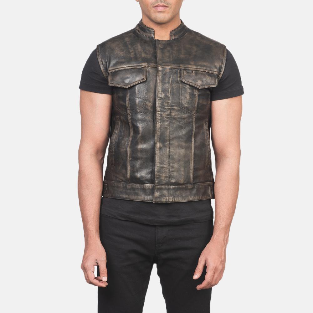 Leather Vest For Men