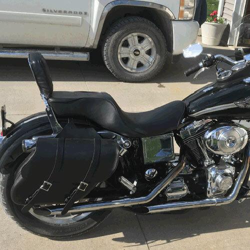 Medium Wide Angle Motorcycle Saddlebags