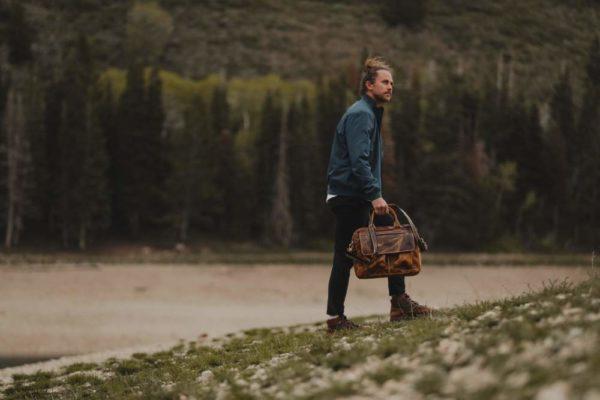 Buffalo Leather Pilot Bag